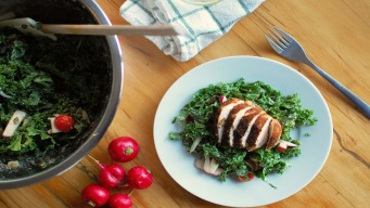 Cooking 4 You: Matchbox Bistro Chicken and Kale Bowl Recipe