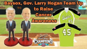 Bowie Baysox Offer Two MD Governor Bobbleheads