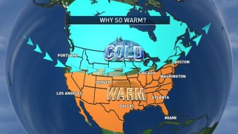 Cooling Pacific Water Responsible for Warm DC Weather