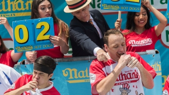 Joey Chestnut Expecting 'a Battle' at Hot Dog Eating Contest