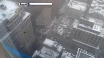 Video Shows Crane Topple Over in Lower Manhattan