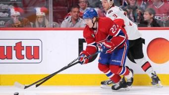 Canadiens Top Senators 3-2 in OT