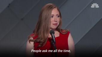Chelsea Clinton Speaks at DNC
