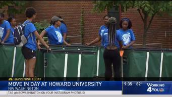 Class of 2022 Moves In at Howard