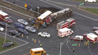 1 Killed, 2 Teens Hurt in Prince George's School Bus Crash