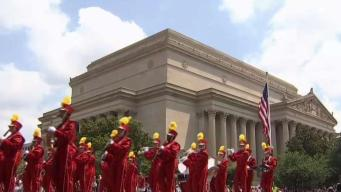 Fourth of July Parade Fills DC Streets