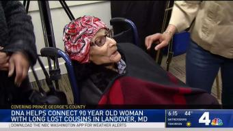 DNA Helps Connect Woman With Long-Lost Cousins in Maryland