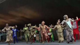 Dancers Light Up Stage at African-American History Museum