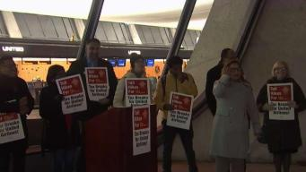 Demonstrators Protest Dulles Toll Road Rate Increase