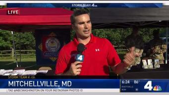 Doug Visits Mitchellville for Backyard Weather