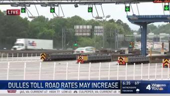 Dulles Toll Road Rates May Increase