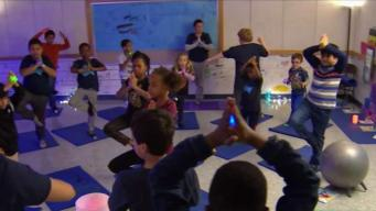 Elementary Schoolers Become Yogis at Alexandria School