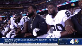 Fans React to NFL Teams Kneeling, Locking Arms in Protest