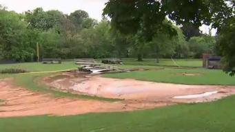 Flash Flood Destroys Little League Field in Frederick