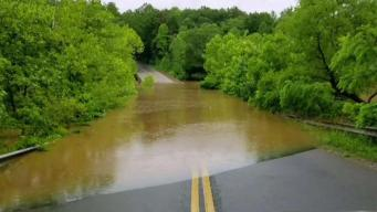 Floodwaters Cause Damage, Detours in Stafford County