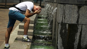 Muggy, Hot Weather to Continue Through Rest of The Week