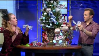 Ex-White House Florist Shows How to Jazz Up Your Tree
