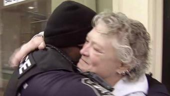 Fredericksburg Police Hand Out Holiday Cheer