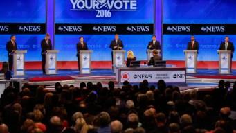 GOP Candidates Debate in New Hampshire