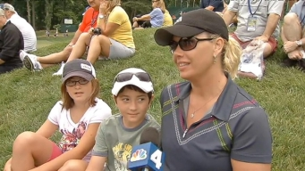 US Open Practice Rounds About Food, Family