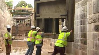 Emptied Georgetown Canal Gets New Locks