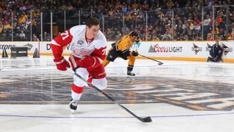 NHL All-Star: Detroit Rookie Skates Fastest Lap