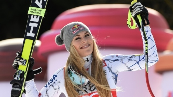 Lindsey Vonn Wins Women's World Cup Downhill