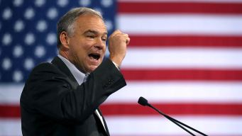 Vice Presidential Candidate Tim Kaine Campaigns in Va.