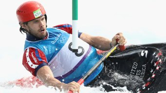 USA's Casey Eichfeld Fails to Medal in Canoe Single Slalom