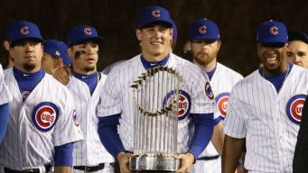 Cubs Receive Championship Rings in Wrigley Field Ceremony