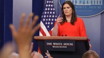 Sanders Steps Into Role as New Face of White House