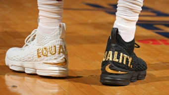 LeBron James' Equality Sneakers Destined for NMAAHC Exhibit