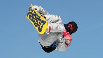 3 Americans Qualify for Men's Big Air Snowboard Final