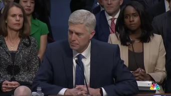 Gorsuch: Judicial Decisions 'Not About Politics'