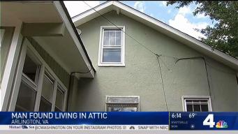 Man Found Living in Attic After Va. Woman Hears Noises Above