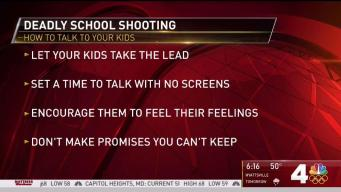 How to Talk To Your Kids About School Shootings