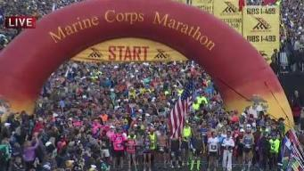 Howitzer Fired to Start Marine Corps Marathon
