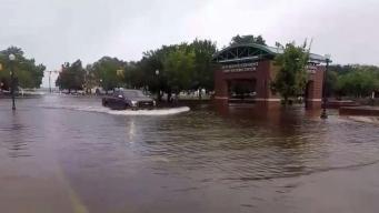 Hurricane Florence's Bands Lashing North Carolina