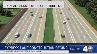 Construction on I-66 Express Lanes Begins