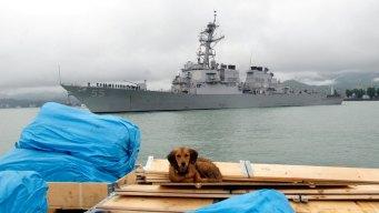 US Navy Ship Fires Shots at Iranian 'Fast Boat'