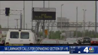 Lawmaker Calls for Expansion Along Parts of I-95