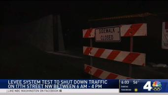Levee System Test Closes 17th Street