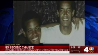 Life Sentence Stands for Beltway Sniper Convicted as Teen