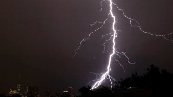 Lightning Threat Looms as Storms Sweep U.S.