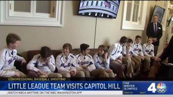 Alexandria Little League Team Visits Scalise at Capitol