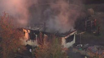 Man and Dog Die After Fire Engulfs Maryland Home