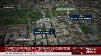 Map: See Where Sunday's Demonstrations Are Planned