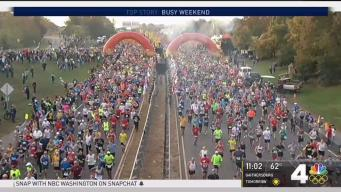 Marine Corps Marathon Starts Soon Sunday Morning