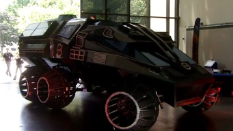 Batmobile for Mars to Be Displayed at Air & Space Museum