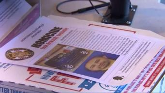 Md. Domino's Hands Out Flyers to Find Pizza Driver's Killer